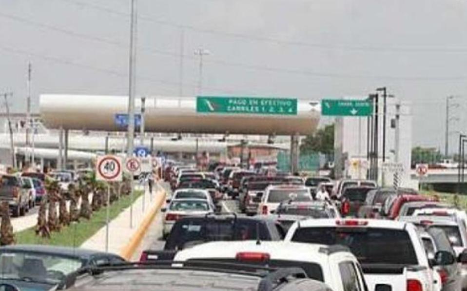 Reporte de puentes en Nuevo Laredo - Laredo